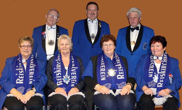 Die Senatsmitglieder 2014