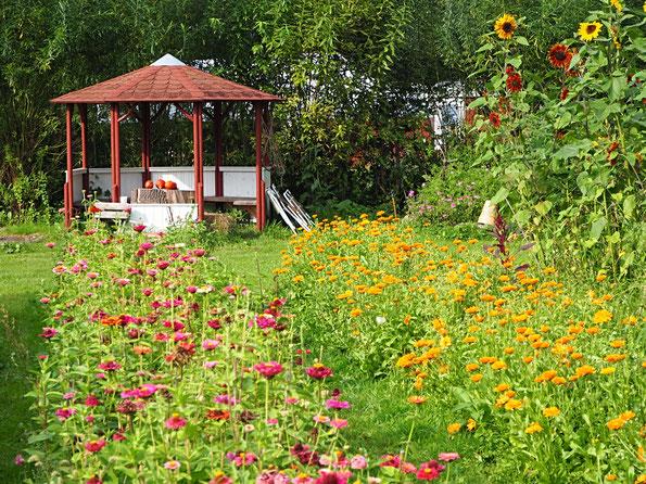 Kräutergarten Gärtnerhof am STüffel www.kraeuter-entdecken.de