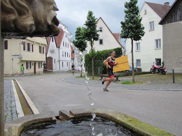 Triathlon Lauingen 2015 (Archiv Foto)