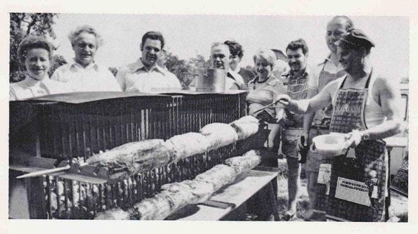 Der selbstgebaute Grill von 1976