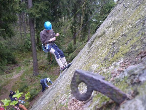 Klettern am Wendelstein