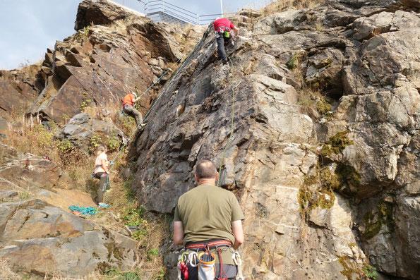 Klettergebiet Schöneck - Alter Söll