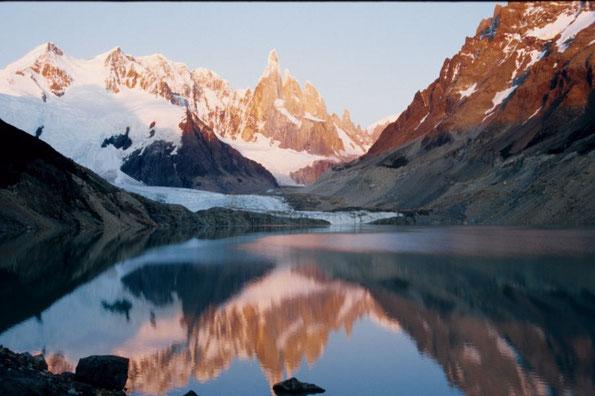 Sonnenaufgang am Cerro Torre 3102 m (NP Los Glaciares)