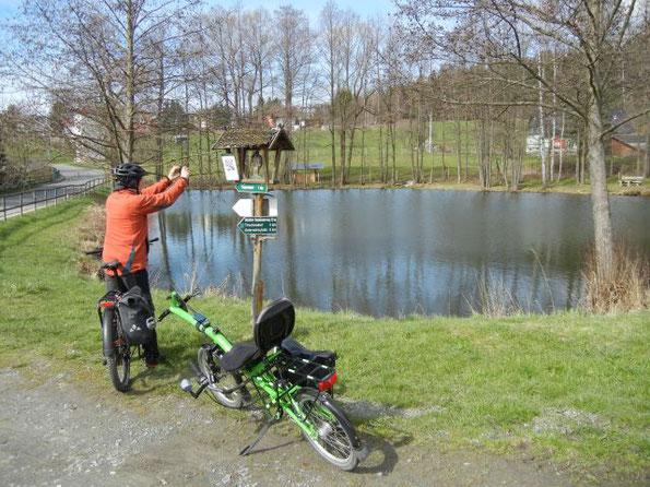 Frühlingsradtour im Vogtland, 11.04.2021
