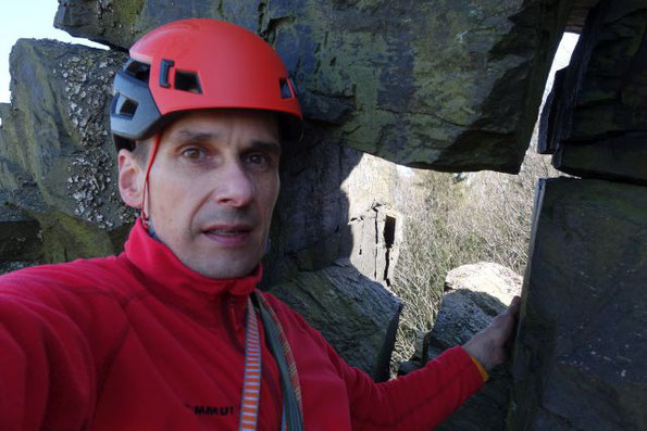 Wir bleiben im Ort, vor Ort! Kletternachmittag am Lochstein in Falkenstein, 11.04.2020