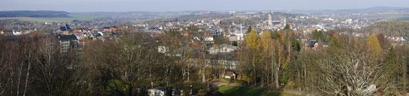 Blick vom Lochstein auf Falkenstein