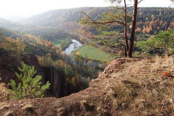 Herbstspaziergang bei Wünschendorf / Elster