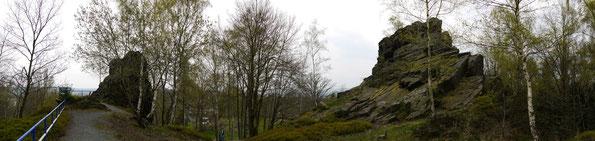 Blick in Richtung Falkenstein