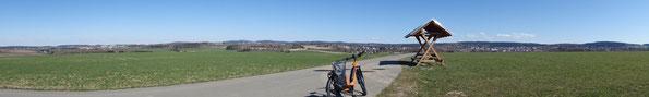 Blick übers Göltzschtal - von Rebesgrün bis zum Wendelstein