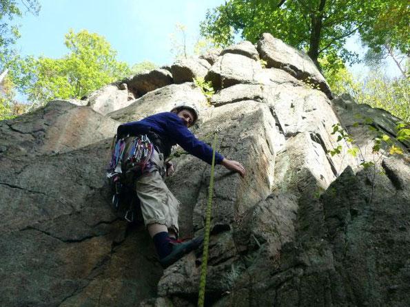 Klettern in `Semnice an der Eger, 06.10.2018