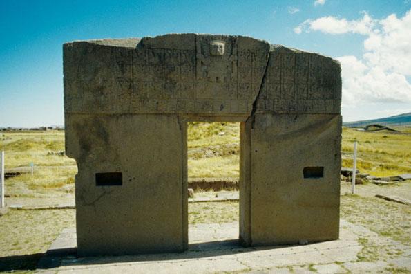 Intipunktu (Sonnentor) der Tiwanaku Kultur in Bolivien