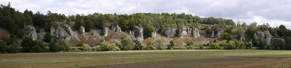 Felsengruppe 12 Apostel ( Altmühltal)