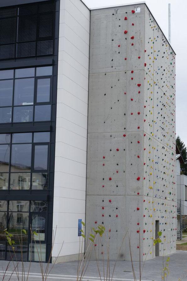 Kletterhalle Knopffabrik in Zwickau