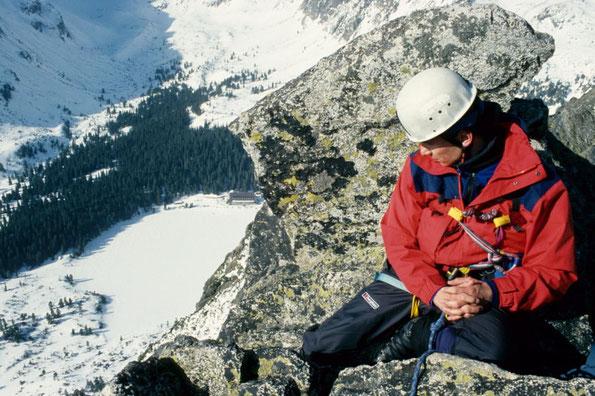 Winterbergsteigen in der Hohen Tatra