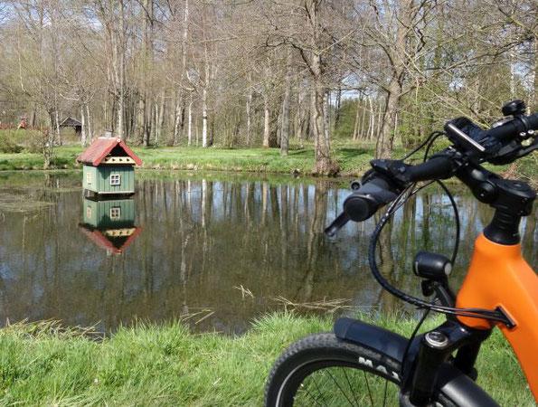 Tour der 4 Entenhäuschen,  eine schöne Fahrradtour um Falkenstein am 08.05.2021
