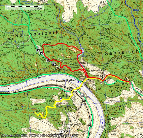 Wanderung vom Gamrig zur Rauensteinaussicht