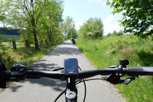 auf dem Brückenradweg von Selb nach Wunsiedel, 29.05.2021