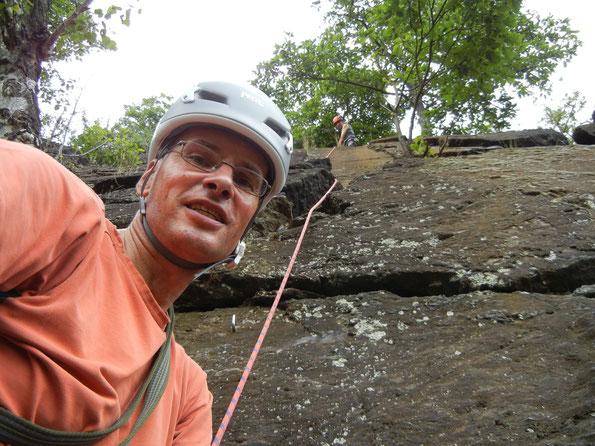 Kletterreha an der Birkenwand im Steinicht, 18.07.2020