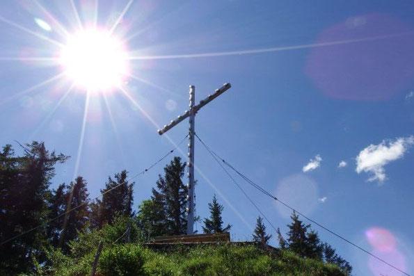 sommerliche Wanderung auf den Steckenberg, 1385 m
