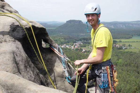 Eintrag Logbuch 2T 8W 8G - oder Klettern im Elbsandstein, 21.-22.05.2020