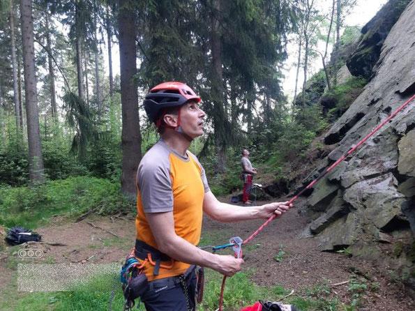 Klettern am Wendelstein, meine Saisoneröffnung am 02.06.2021