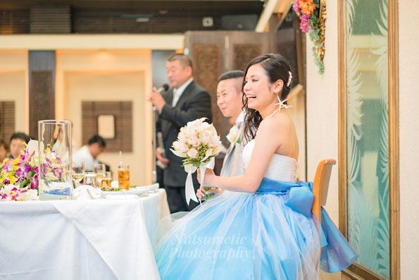 Natsumetic結婚式の当日撮影・披露宴