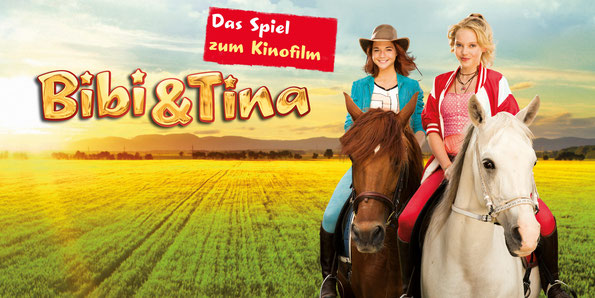 Banner Bibi & Tina - Das Spiel zum Kinofilm