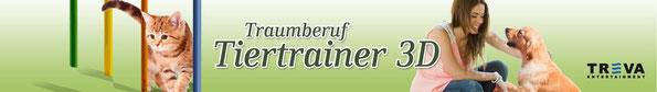 Game Banner Traumberuf Tiertrainer 3D
