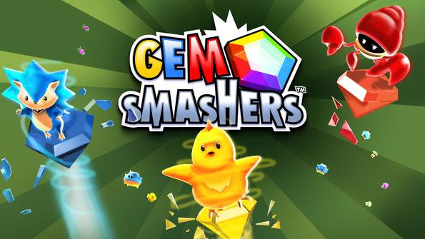 Banner Gem Smashers
