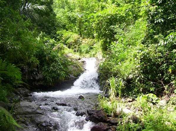 Badeplatz im Fluss