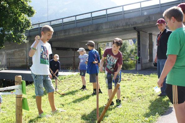 Chneblä: Eine Traditionssportart