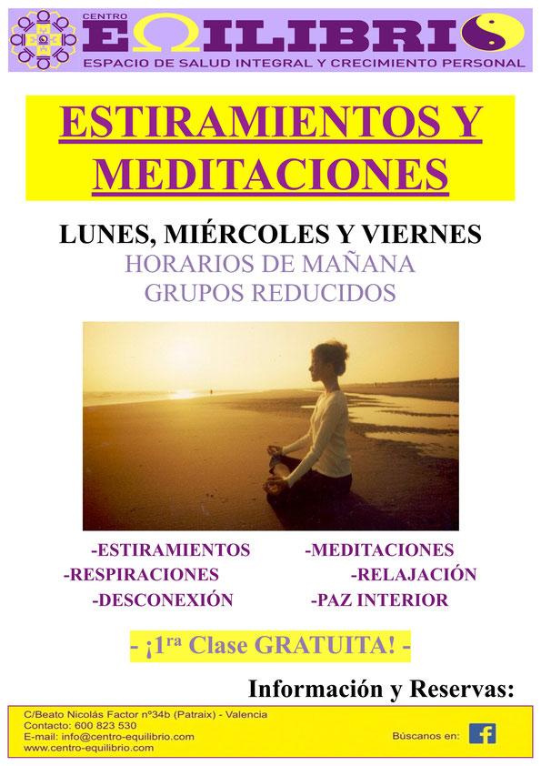 Estiramientos y Meditaciones
