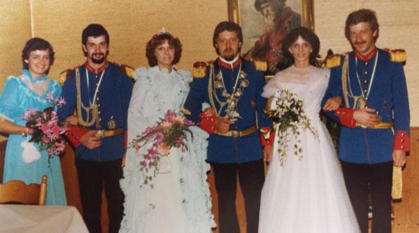 v.l.: Rita Türks & Erwin Beres, Angelika Hübner & Matthias Bommes, Anita Hackbart & Hubert Spaetgens