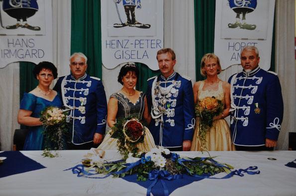 v.l.n.r.: Irmgard & Hans Gaida, Gisela & Heinz-Peter Bommes, Anne & Horst Glanert
