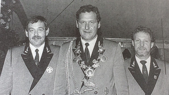 Hubert Hansen, Hans-Willi Türks, Hans-Peter Katers