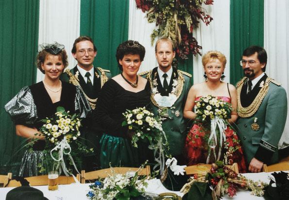 Gerta & Theo Beckers, Hannelore & Karl-Heinz Thomas, Maria & Gerd Beres