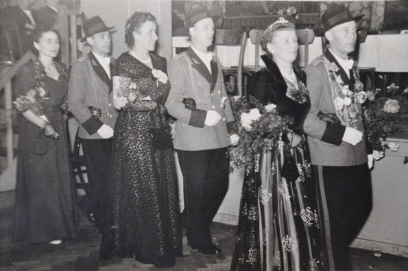 König Peter Strerath, Minister Josef Beres, Minister Franz Lingen
