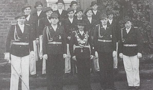 König Josef Türks, Minister Franz Maaßen und Johannes Syben