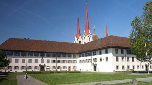 Le monastère de Muri