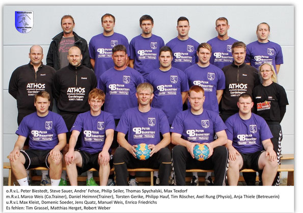 Trainingsauftakt 1. Herren Saison   2014/15
