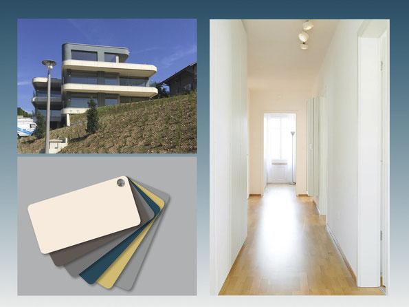 Projekte Innenarchitektur nach Wohnbereich Innenarchitektin Wohnberatung Inneneinrichtung Claudia Merlotti