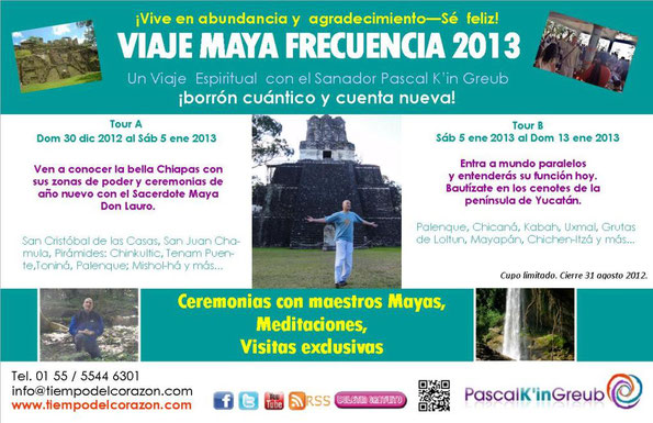 Maya frecuencia espiritualidad