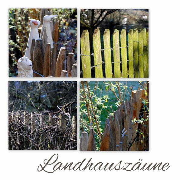 Landhauszaun - der Zaun zum Zaunhocker
