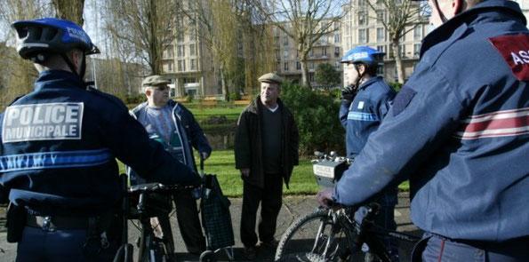 La police municipale du Havre