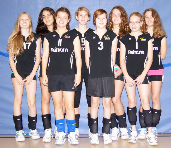 Von links: Lea, Christina, Lena, Lea, Jule, Sina ,Lara, Selin