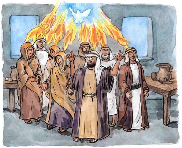 Pfingsten in der Bibel