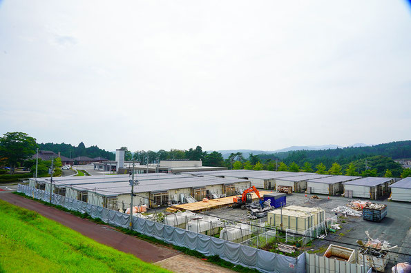 仮設住宅(写真:南三陸町)