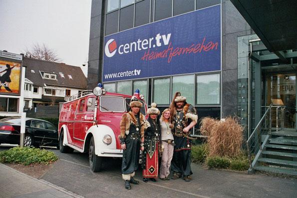 Nach der erfolgreichen Fernsehprämiere (v.l.n.r.) Hans-Jürgen Nonn, Karin Kämpken, Sabine Pätsch und Jörg Unterberg