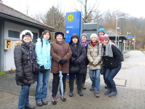 Wanderung in Habichtswald
