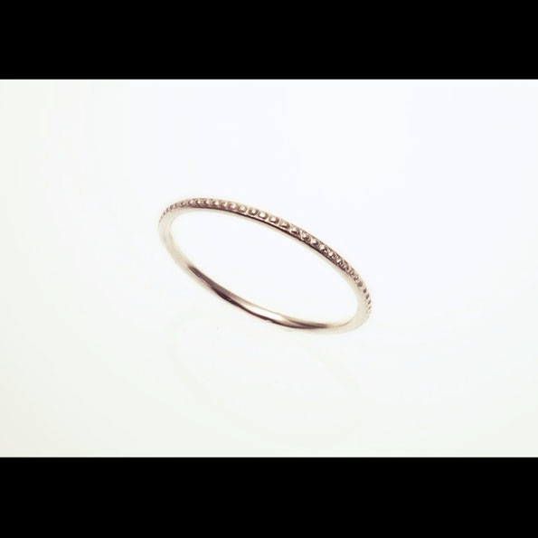 Mille Grain ring SILVER
